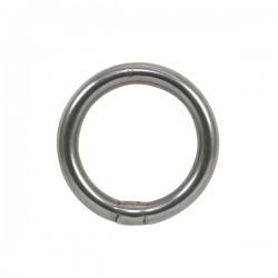 Round Stainless Steel Ring...