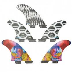 Gorilla FCS II Tri-Quad Fins