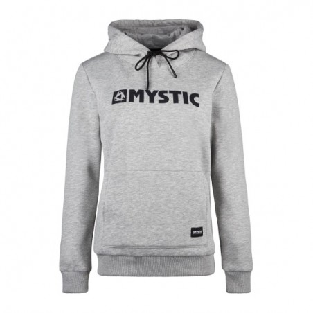 MYSTIC - Brand Hood Sweat Femme - Gris