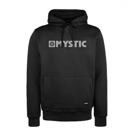 MYSTIC - Brand Hood Sweat - Black