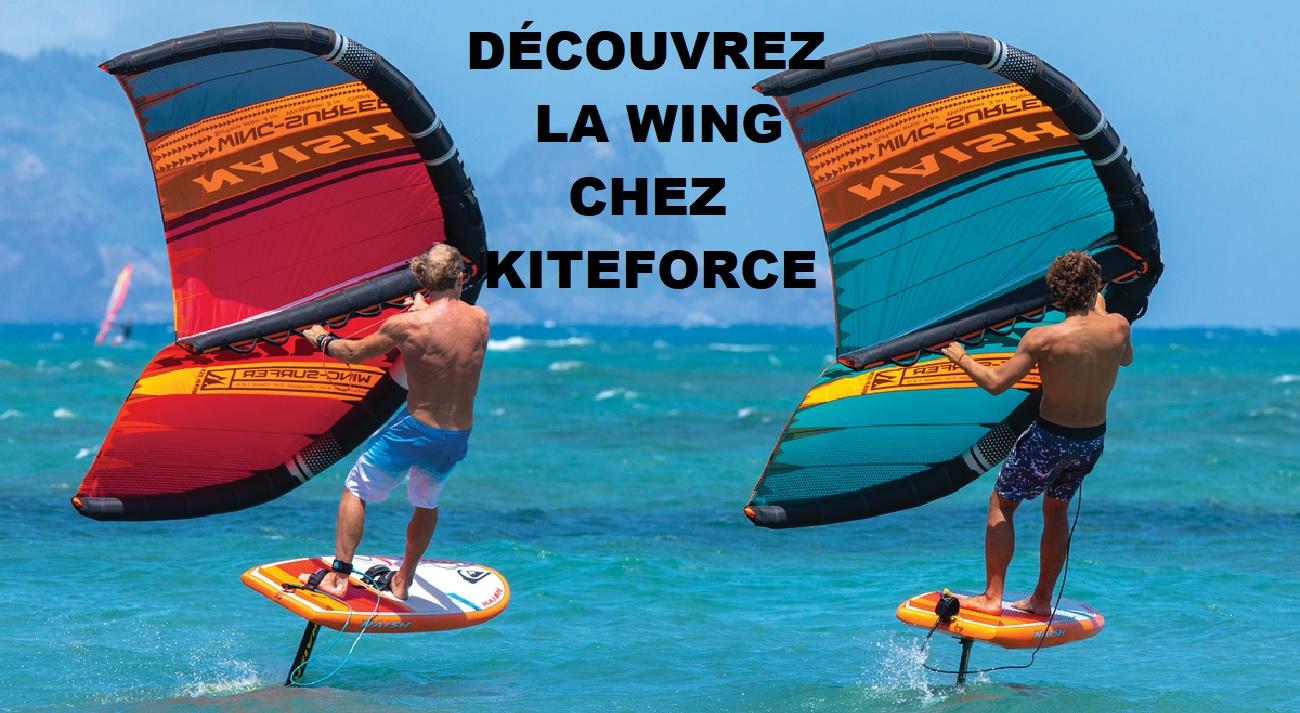wingfoil chez kiteforce